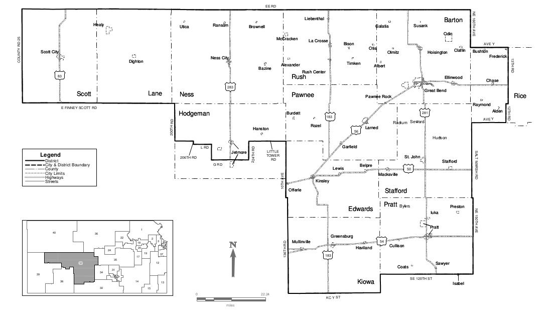 Kansas 33rd District